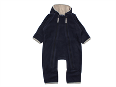 Ver de Terre fleece suit navy/mocha